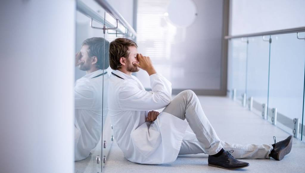 burnout sector salud medicos