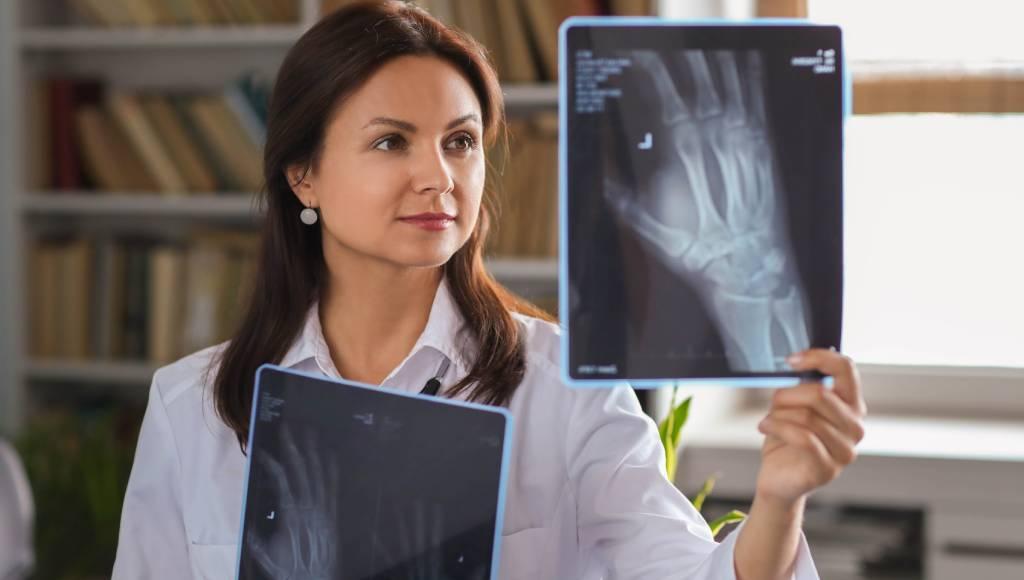 rx radiografia de mano